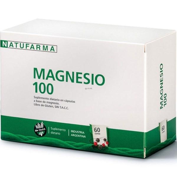 Magnesio 100 60 Cápsulas #1