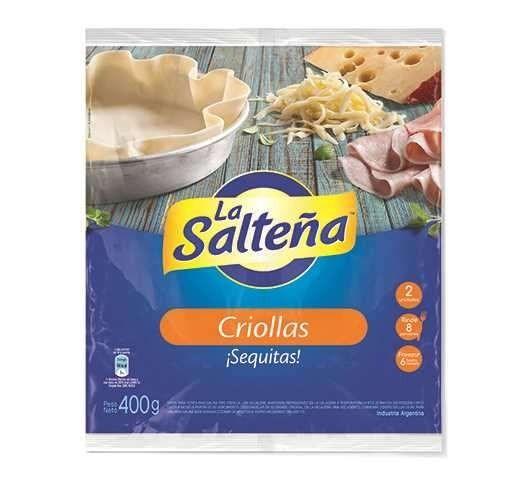 PASCUALINA LA SALTEÑA CRIOLLA x 1 U