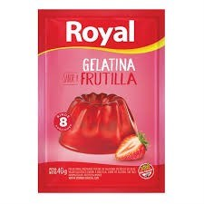 GELATINA ROYAL FRUTILLA POUCH x 70 GRS