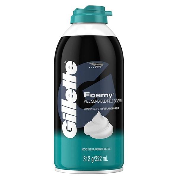 Espuma De Afeitar Gillette Foamy Sensitive X 312 Gr alt