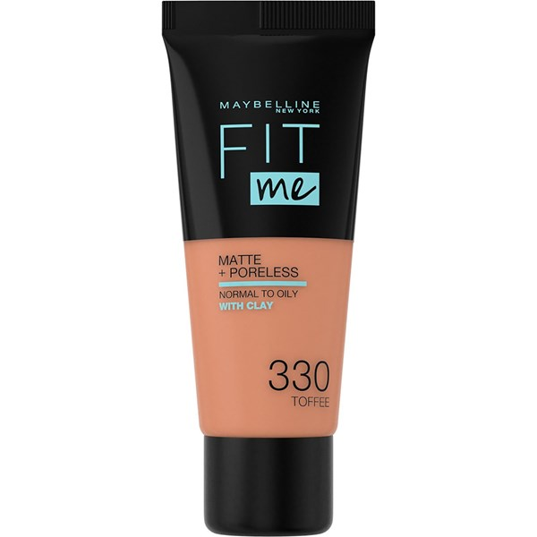 Base De Maquillaje Maybelline Fit Me Suave Y Natural 330 Medium Buff  X 30 Ml