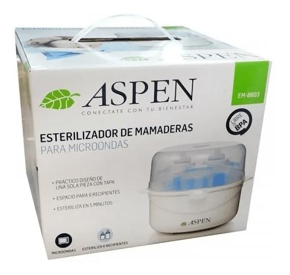 Aspen Esterilizador Para Microondas- Capacidad 6 Recipientes alt