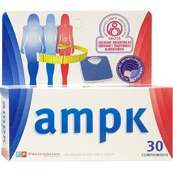 Ampk Suplemento Dietario x30Comp