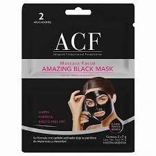 Máscara Facial Para Puntos Negros ACF Amanzing Black 14g