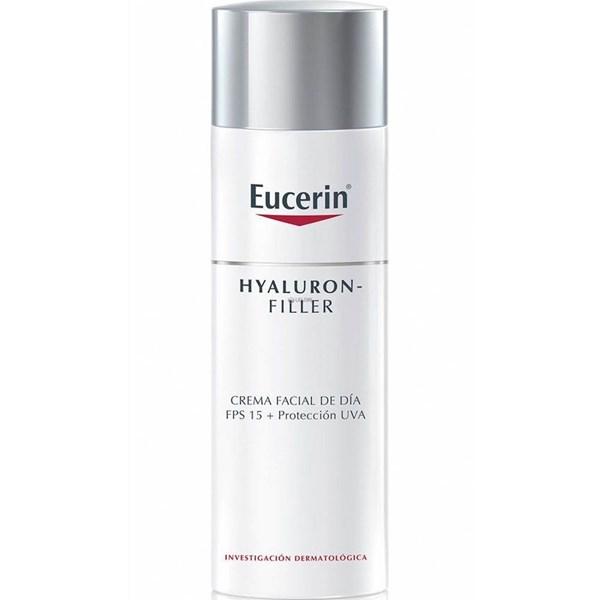 Eucerin Hyaluron-Filler crema facial FPS 15 + Protección UVA. Piel normal a mixta #1