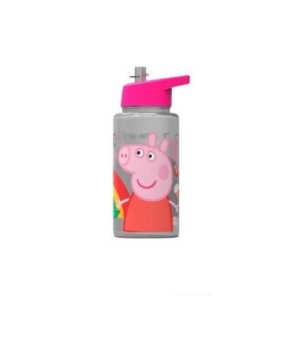 Botella Peppa Pig Straw Top 500ml
