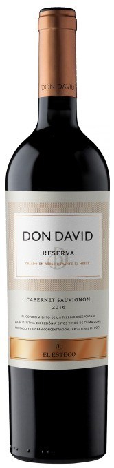 DON DAVID RESERVA CABERNET SAUVIGNON x 750 CC