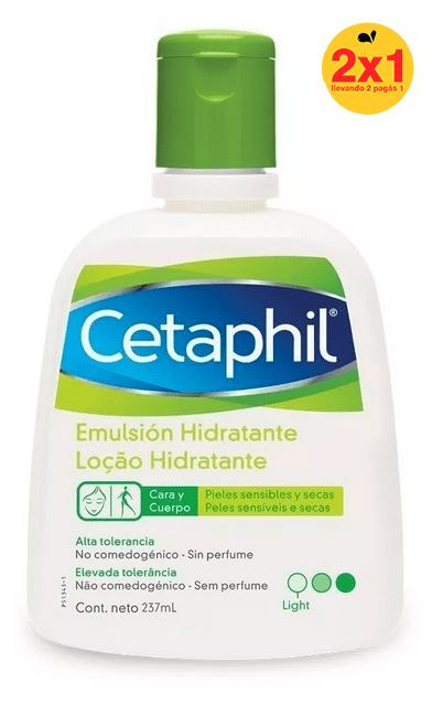 Cetaphil Emulsión Hidratante 237ml 2x1