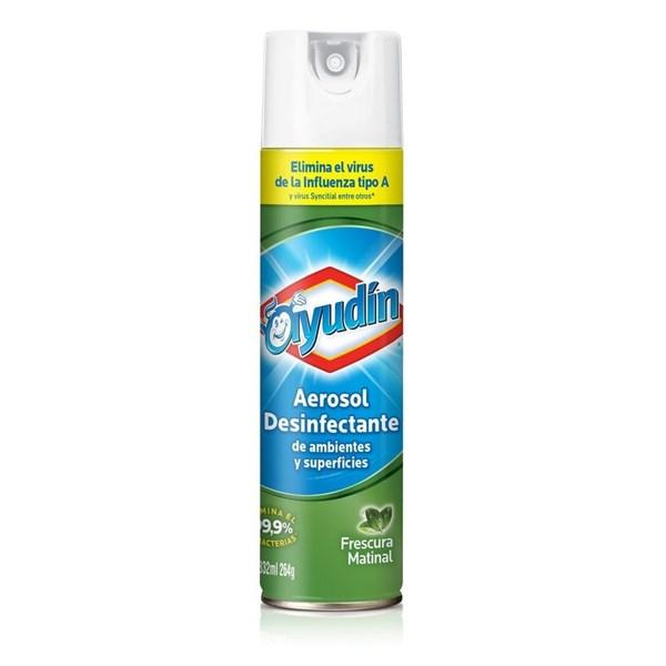 Ayudin Desinfectante Aerosol Frescura Matinal 332ml