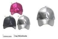 Gorro Cap Metalizado Para Dama