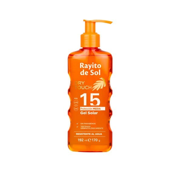 Rayito De Sol Protector Solar Gel Dry Touch FPS15 192ml