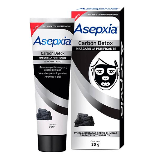 Asepxia Carbón Mascarilla Peel Off alt