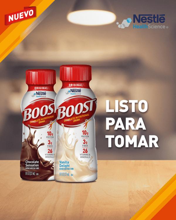 Boost Suplemento Nutricional Vainilla 237 ml Nestle 3X2 alt