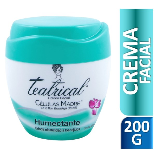 Teatrical Crema Humectante X 200 Gr