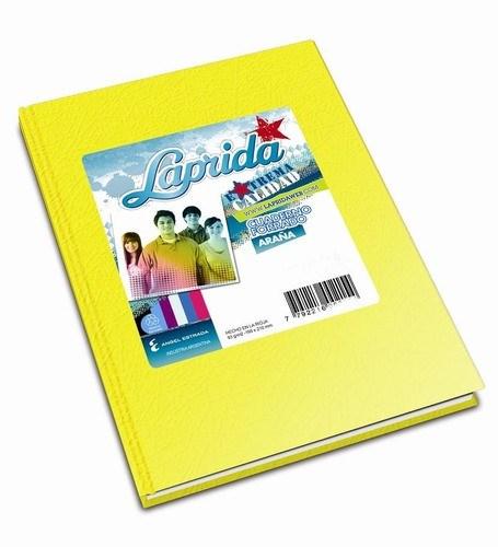 Cuaderno Laprida Araña Amarillo x 50 hojas