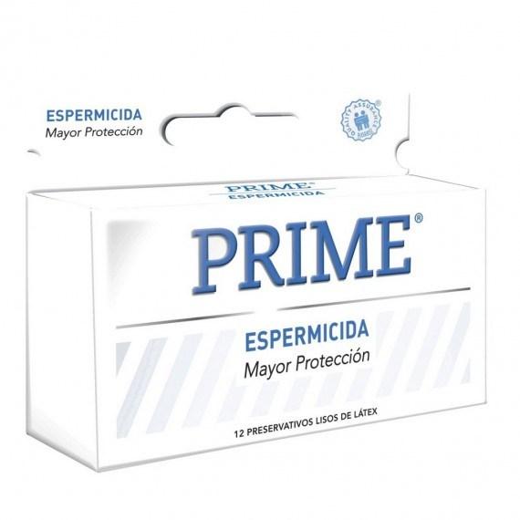 Prime Preservativos Espermicida x12 Unidades #1