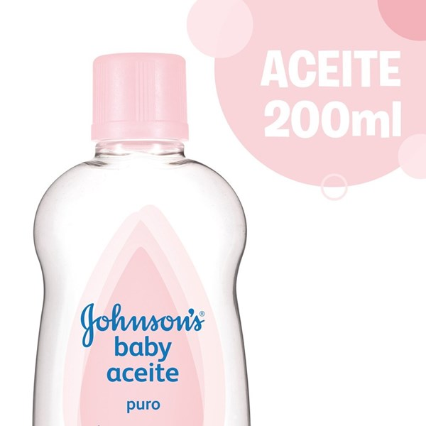 Johnsons Baby Aceite Puro X 200