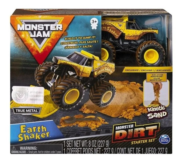 Monster Jam Set Camioneta