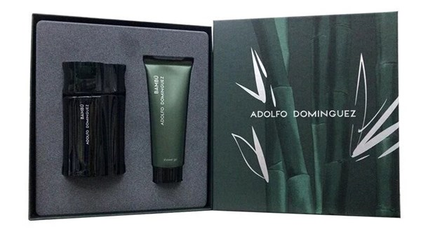 Perfume Hombre Adolfo Dominguez Bambú Edt 120ml+gel Ducha