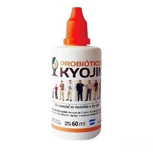 Kyojin Probioticos frasco gotero 60ml