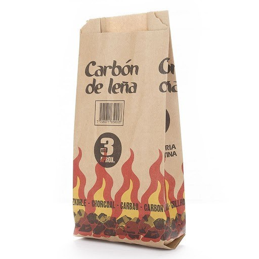 BOLSA DE CARBON x 3 KGS
