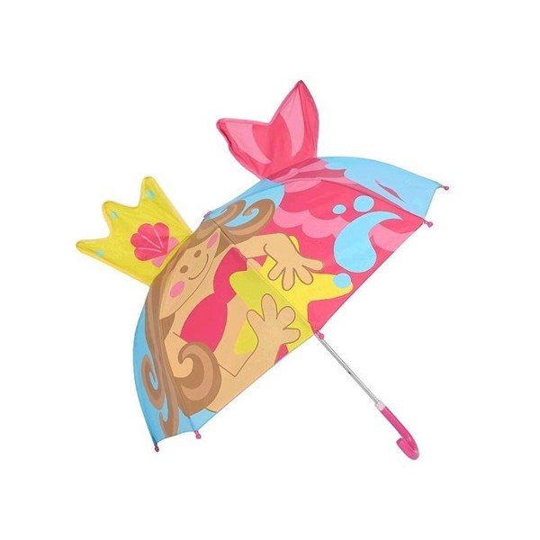 Paraguas Infantil Sirena con silbato
