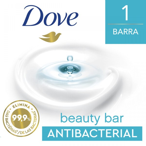 Jabón Dove Cuida Y Protege X 90 Gr