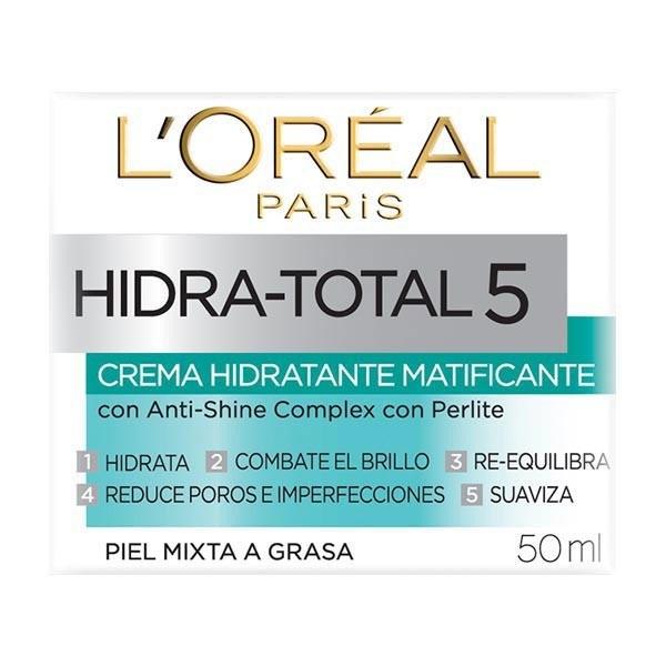 Crema Hidratante Matificante Hidratotal 5, Loreal