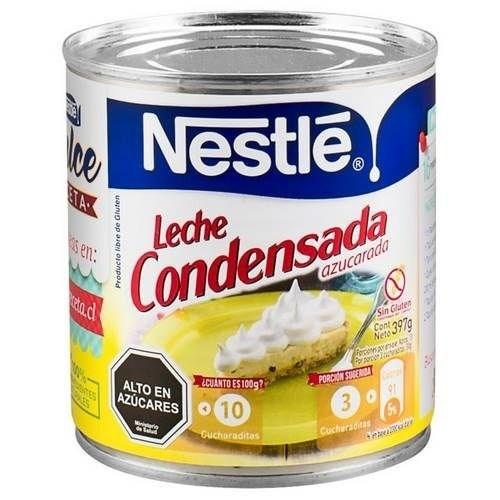 LECHE CONDENSADA NESTLE x 395 GRS