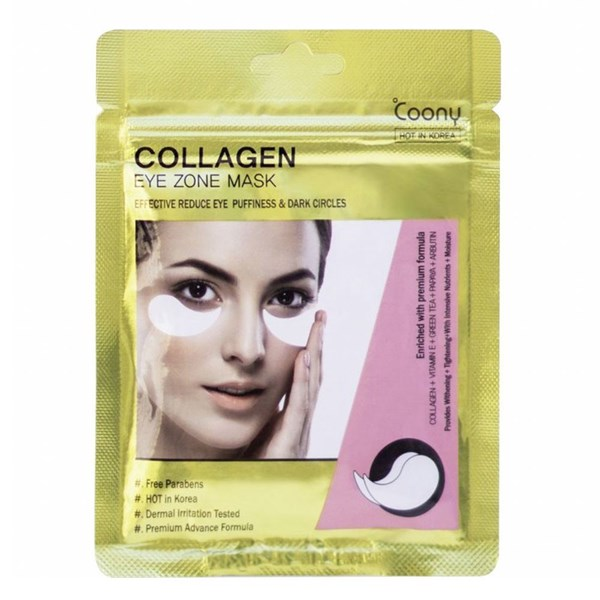 Coony Mascarilla Collagen Ojeras 30 Parches