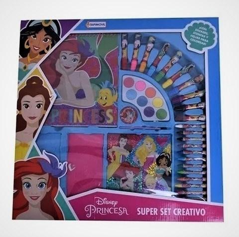 Super Set Creativo Disney Princesas
