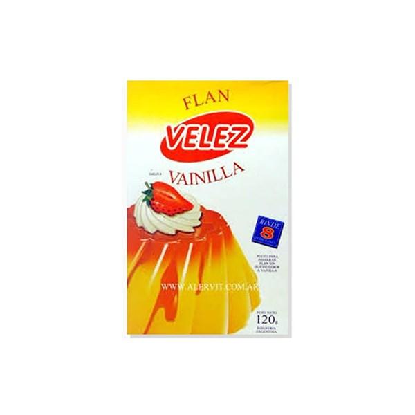 FLAN VELEZ VAINILLA x 120 GRS
