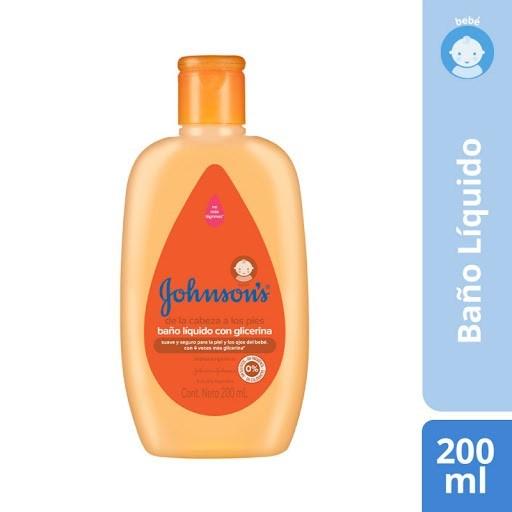 Johnson´s Baby Baño Liquido Con Glicerina x 200ml #1