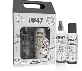 47 Street Rock The Night Estuche (Body Splash + Desodorante)