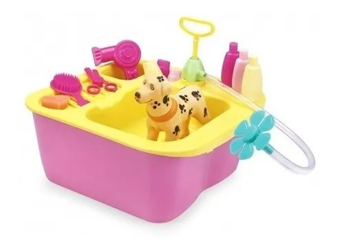 Set Acqua Pet Lavadero De Mascotas