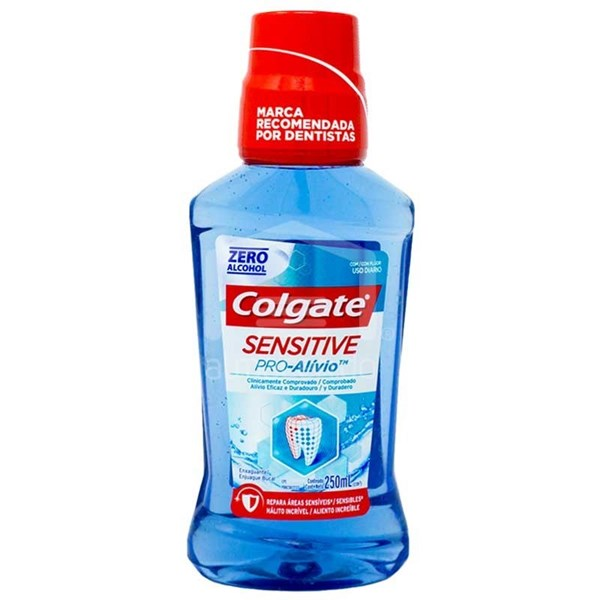 Colgate Sensitive Pro Alivio 250ml Enjuague Bucal