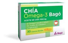 Chia Omega 3 Bago 30 Caps Blandas