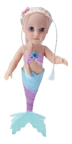 Muñeca Sirenita Nadadora alt