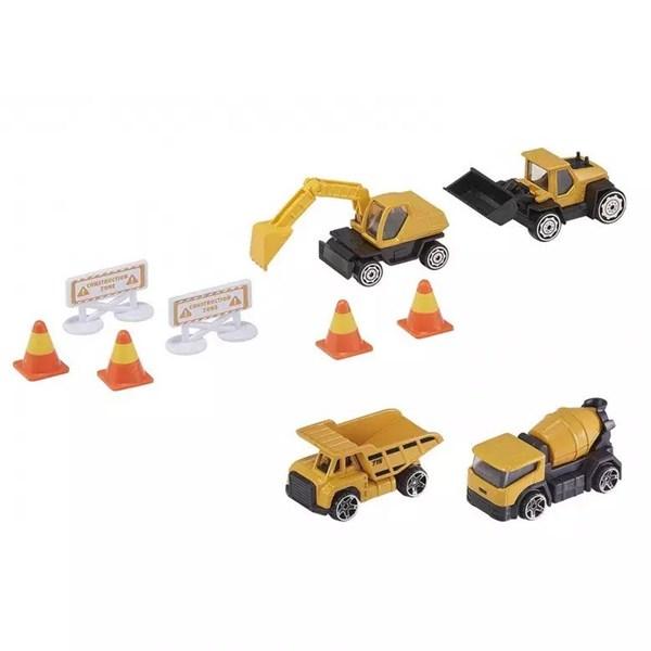 Set Camiones Building Machines Teamsterz alt
