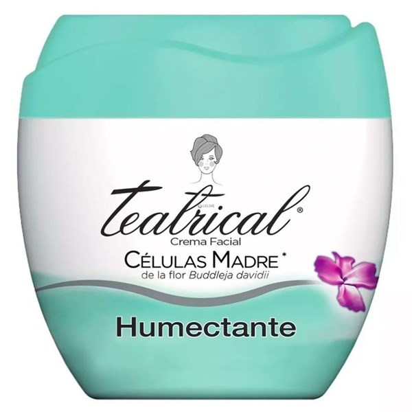 Teatrical Crema Humectante Facial 200g