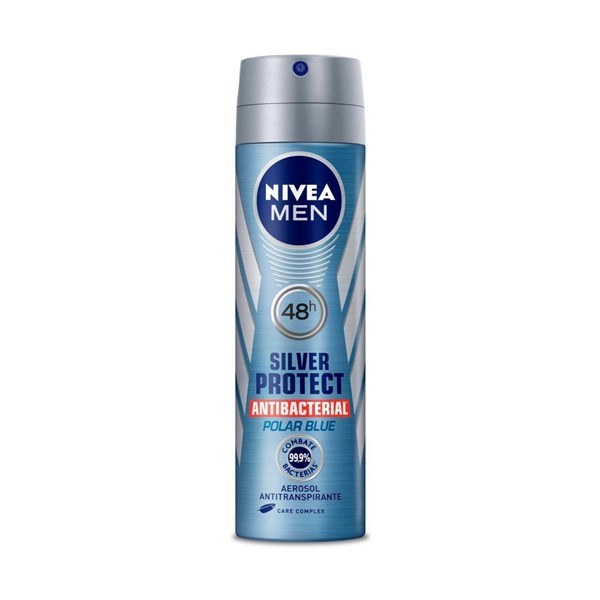 Nivea Antitranspirante x 150ml M Silver Protect Polar Blue #1