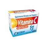 Vitamina C 1gr 15 Comprimidos ISA Suplemento Dietario #1