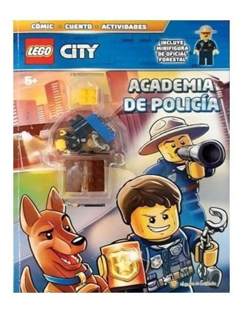 Lego City Libro Academia De Policia  alt