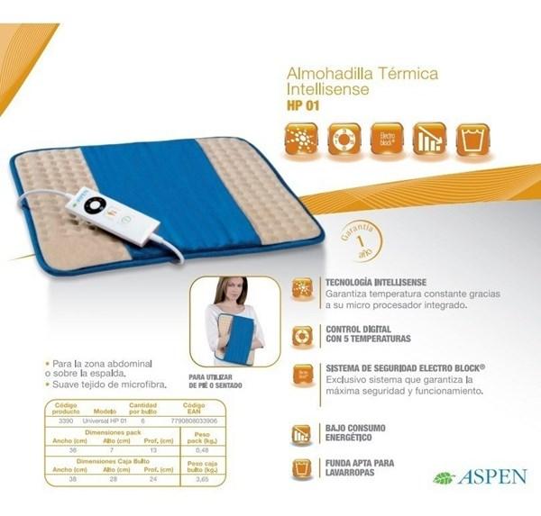 Aspen Manta Termica Universal Intellisense HP-01  alt
