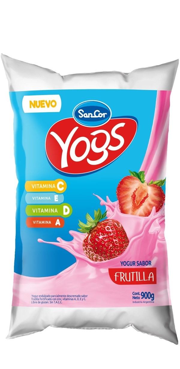 Yogur Sancor Yogs Frutilla x 1 LT