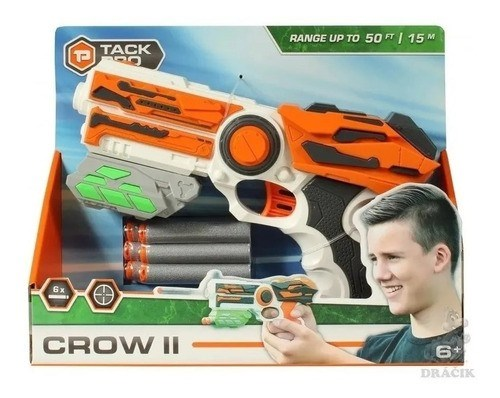 Set Pistola Lanza Dardos Tack Pro 23cm