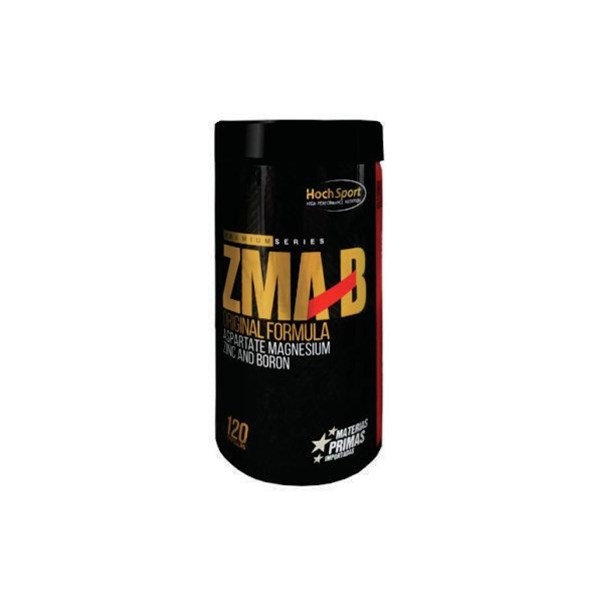 ZMA Potenciador de Testoterona - Vitamina B6, Magnesio, Zinc, Boro, Aumenta Testo 120 Caps