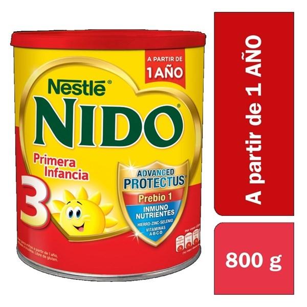 Nido 3 Pbio1 Protec Lata X 800 Gr