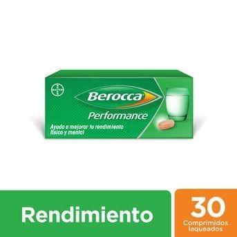 Multivitaminico Berocca Performance Comprimidos Laqueados X 30