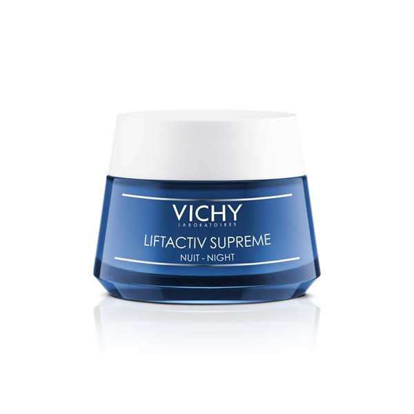 Vichy Liftactiv Supreme Antiarrugas Firmeza Global Crema De Noche X 50 Ml
